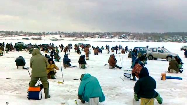 Зимняя рыбалка в Прикамье
