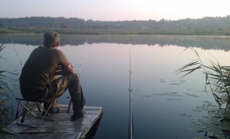 Рыбалка на реке Проня