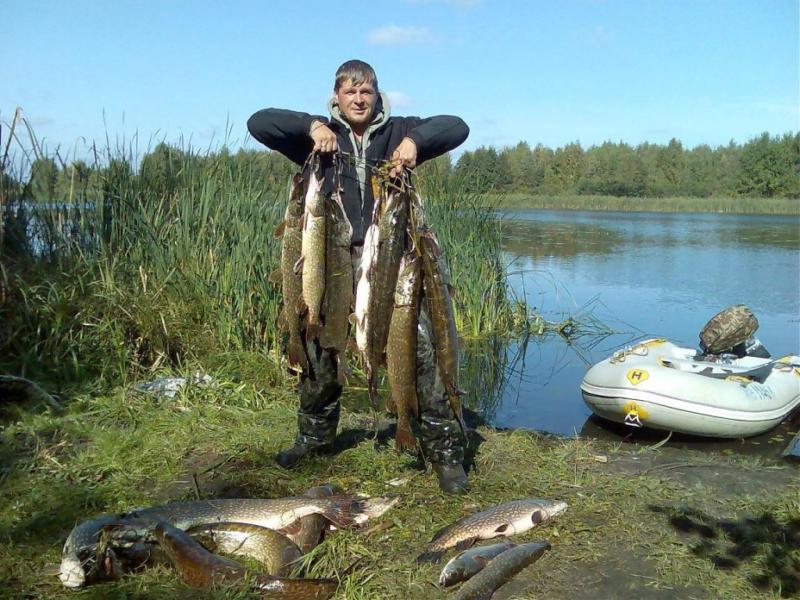 Рыбалка на Щучьем озере