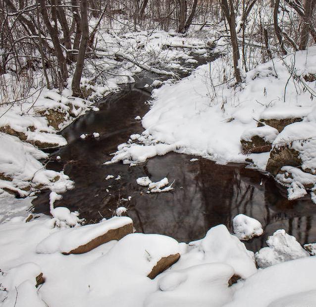 С балдой по незамерзающим речкам